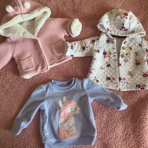 Various 3m Baby Girl Sweaters